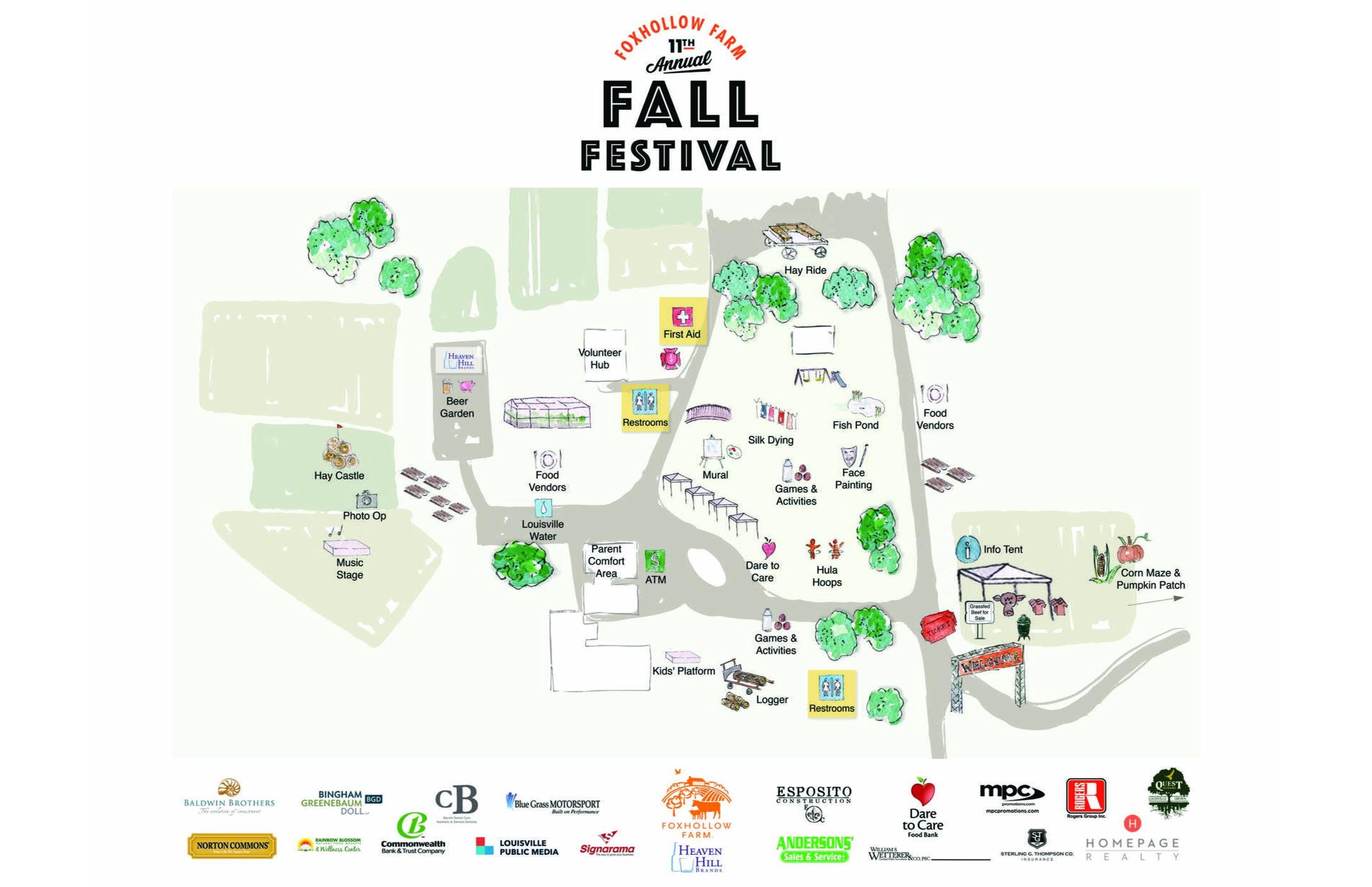 Fall Festival Map
