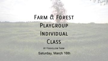 Farm & Forest March 16th