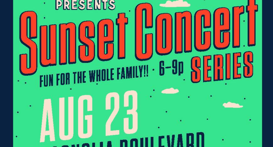 August 23rd Sunset Concert