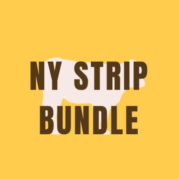 NY Strip Steak Bundle