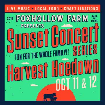 Harvest Hoedown October 11 October 12