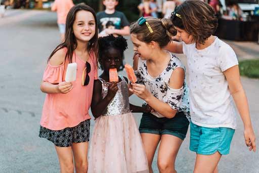Kids Love Steel City Pops!