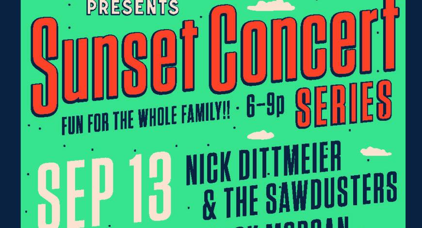 September 13th Sunset Concert