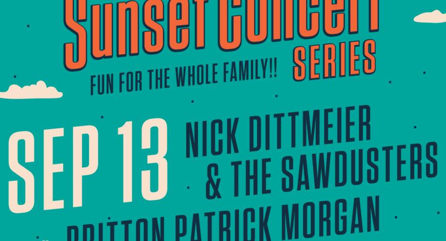 September 13th Sunset Concert Series