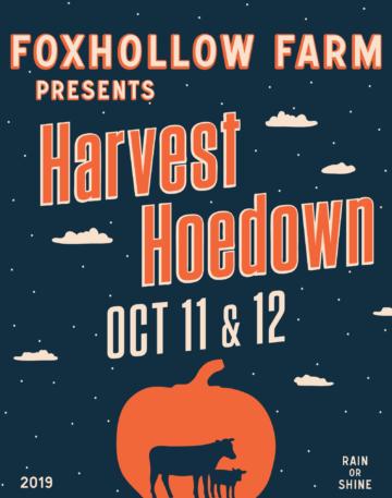 Harvest Hoedown October 11 & 12