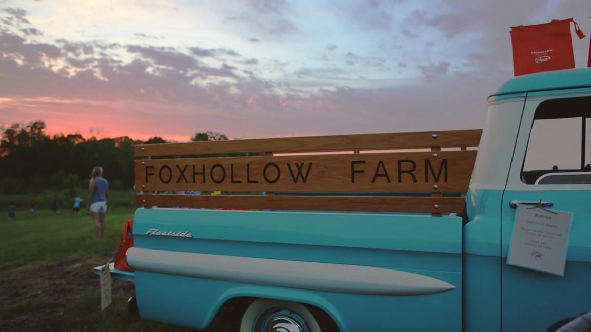Foxy Truck Sunset