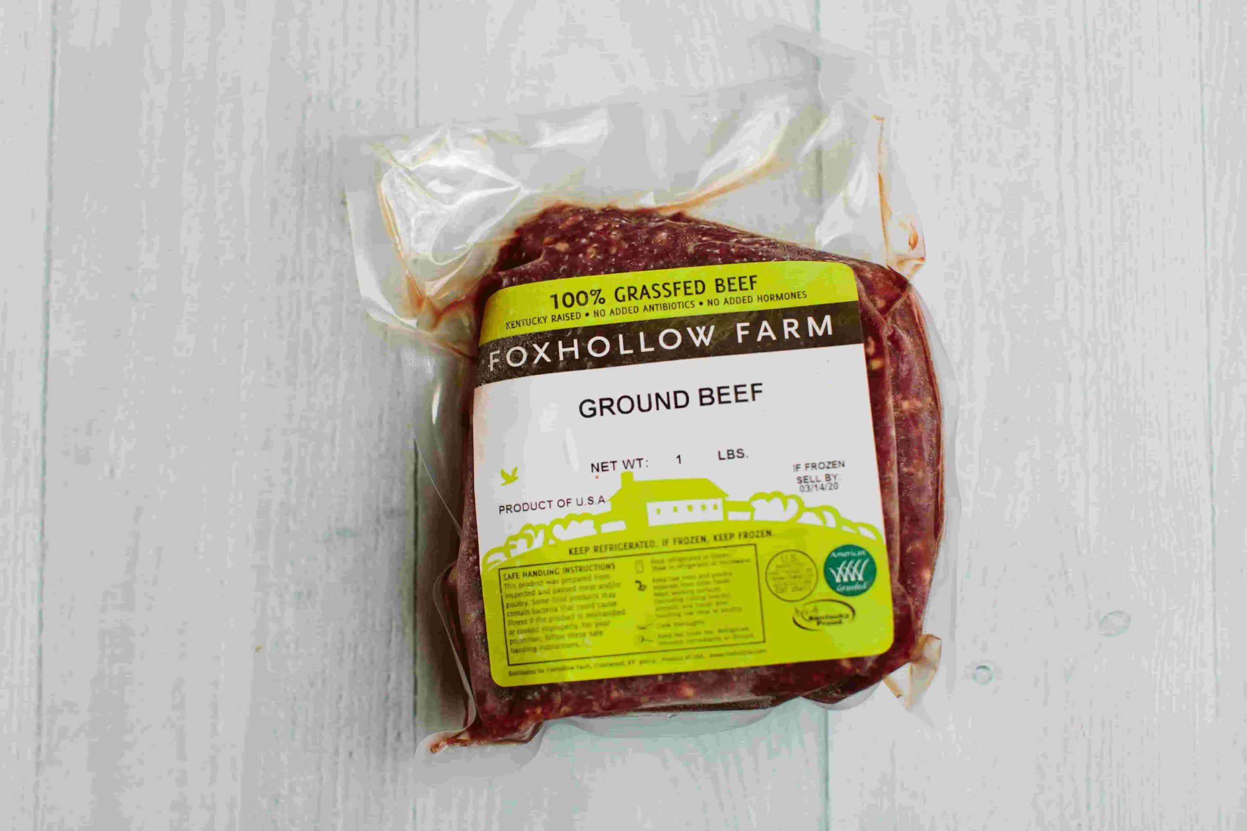100% Grassfed Ground Beef
